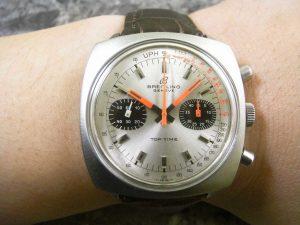 ブライトリング・BREITLING トップタイム クロノグラフ 手巻腕時計:画像3