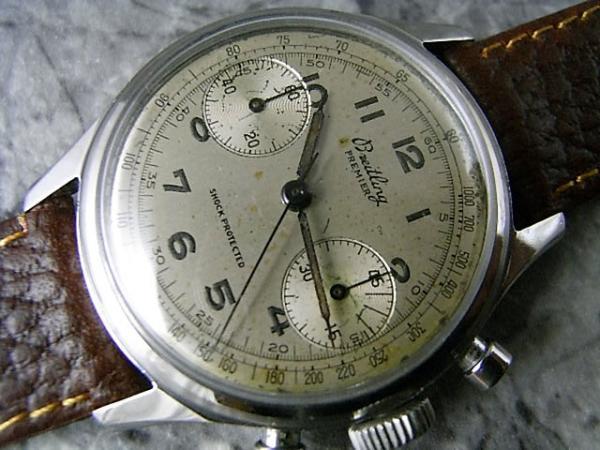 ブライトリング プルミエ(PREMIER) 1940年代 アンティーククロノグラフ ビーナス150