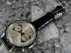 ブライトリング スプリント パンダダイヤル 1970年代 2レジスタークロノグラフ SPLINT:画像1