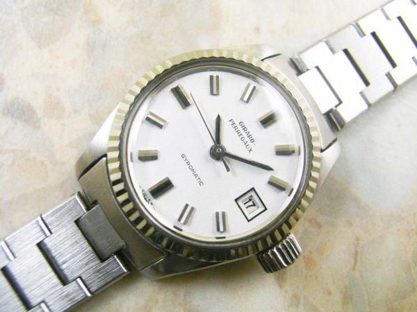 ジラール・ペルゴ(GIRARD PERREGAUX) レディースサイズ アンティーク時計