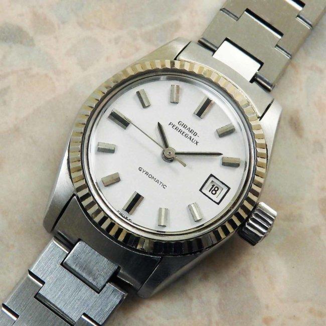 ジラール・ペルゴ(GIRARD PERREGAUX) レディースサイズ アンティーク 腕時計