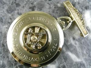 ジラールペルゴ 懐中時計 フリーメーソン Girard-Perregaux:画像1