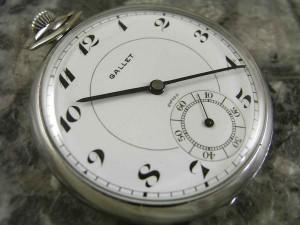 ギャレット・GALLET 懐中時計 エクセルシオパーク 琺瑯文字盤 希少:画像1