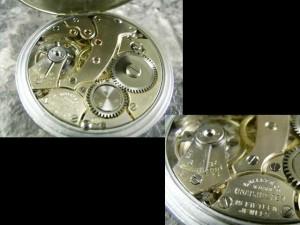 ギャレット・GALLET 懐中時計 エクセルシオパーク 琺瑯文字盤 希少:画像3
