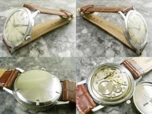 ジラールペルゴ GIRARD PERREGAUX 3針 機械式手巻き:画像2
