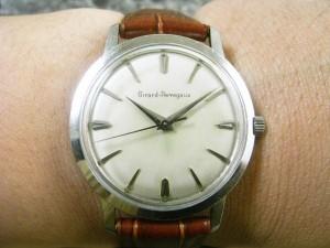 ジラールペルゴ GIRARD PERREGAUX 3針 機械式手巻き:画像3