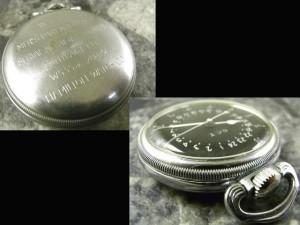 ハミルトン G.C.T 軍用懐中時計 24時間表示:画像2