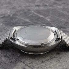 ジャガールクルト メモボックス デイト アラーム ビッグサイズ 純正ブレス付:画像3