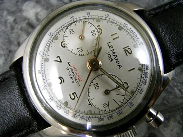 LEMANIA 105 レマニア 1275搭載 2レジスタークロノグラフ
