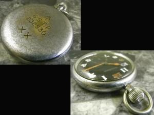ジャガールクルト 懐中時計 ミリタリー コブラハンド スモセコ:画像2