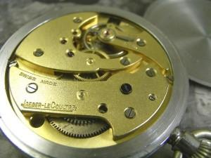 ジャガールクルト 懐中時計 ミリタリー コブラハンド スモセコ:画像3