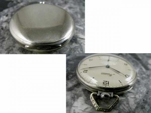 ミネルバ 1940年代 懐中時計 ポケットウォッチ MINERVA:画像3