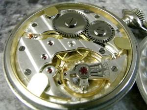 ミネルバ 1950年代 ミリタリー 懐中時計 ミラーダイアル MINERVA:画像1