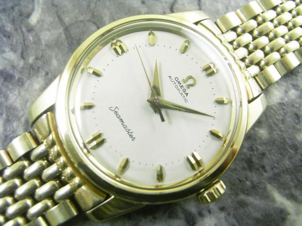 OMEGA SEAMASTER 自動巻腕時計 アンティーク