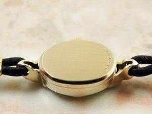 オメガ OMEGA 14KYG イエローゴールド ダイヤ レディース 時計 アンティーク:画像3