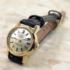 OMEGA Ladymatic アンティーク 腕時計 18KYG 金無垢:画像1