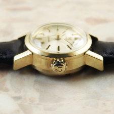 OMEGA Ladymatic アンティーク 腕時計 18KYG 金無垢:画像2