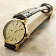 オメガ レディース シャンパンダイアル アンティーク時計:画像1