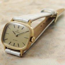オメガ シャンパンゴールドダイアル アンティーク 時計 レディース:画像1
