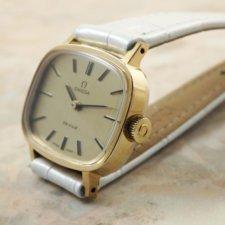 オメガ シャンパンゴールドダイアル アンティーク 時計 レディース:画像2