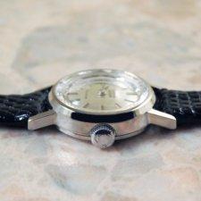 OMEGA/オメガ MEISTER ダブルネーム 18金無垢/18KWG レディース時計 カットガラス 手巻き:画像2