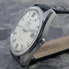 オメガ シーマスター クロノメーター オリジナルシルバーダイヤル Cal.564 自動巻き アンティーク:画像2
