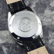 オメガ シーマスター クロノメーター オリジナルシルバーダイヤル Cal.564 自動巻き アンティーク:画像4
