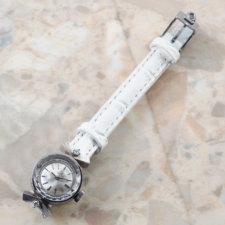 オメガ レディース アンティーク プラチナ ダイヤモンド:画像4