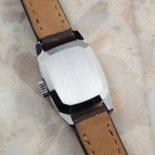 オメガ アンティーク時計 レディース シルバーモザイクダイヤル:画像5