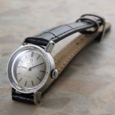 OMEGA 60'S Ladies Cut Glass  オメガ レディース カットガラス アンティーク時計:画像1