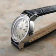 OMEGA 60'S Ladies Cut Glass  オメガ レディース カットガラス アンティーク時計:画像2