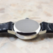 オメガ オリジナルシルバーダイヤル カットガラス ホワイトゴールド レディースウォッチ:画像3
