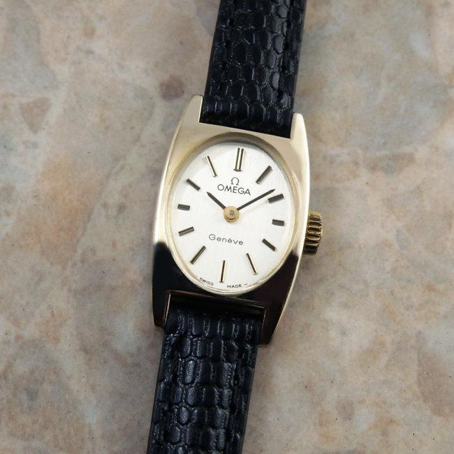 オメガ トノー オーバル 511.362 レディース アンティーク 腕時計