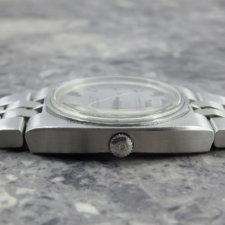 オメガ コンステレーション インテグレート シルバー モザイク ダイヤル:画像2