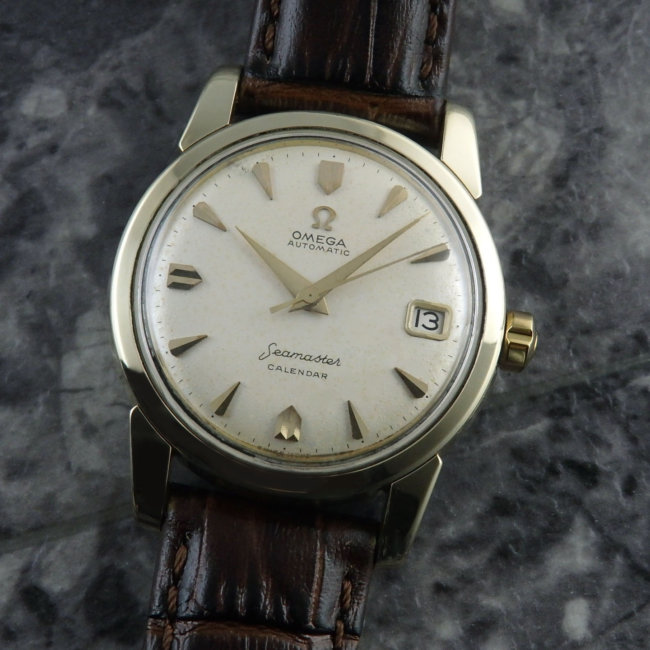 オメガ シーマスター Bigシーホース アンティーク メンズ 腕時計