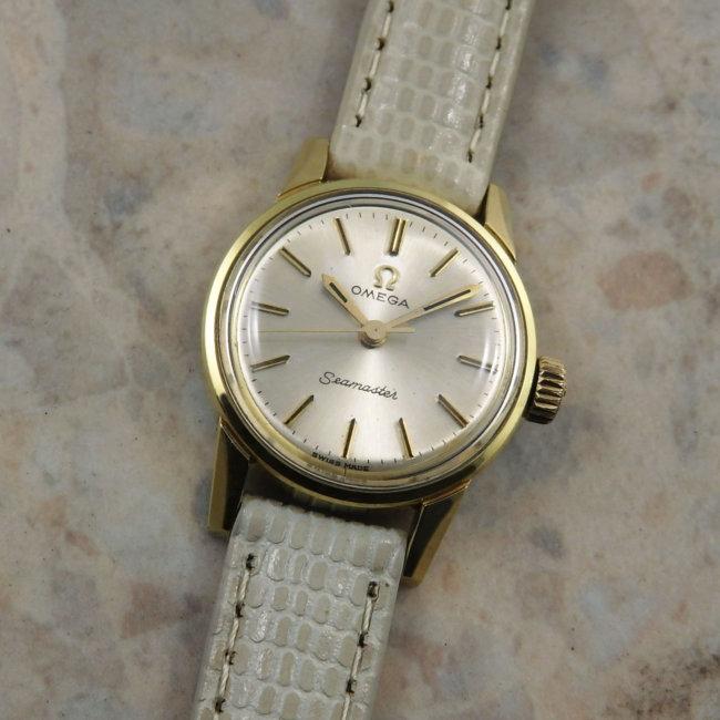 オメガ OMEGA シーマスター アンティーク 時計 レディース