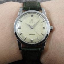 オメガ シーマスター ビッグシーホース アンティーク 腕時計:画像6