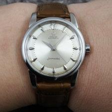 オメガ シーマスター Bigシーホース アンティーク メンズ 腕時計 Cal.501:画像6