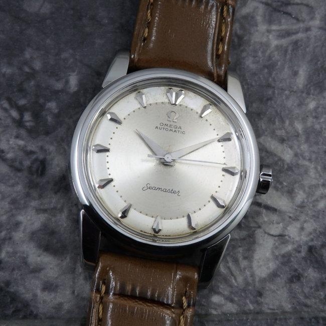オメガ シーマスター Bigシーホース アンティーク メンズ 腕時計 Cal.501