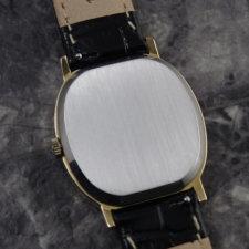 OMEGA アンティークウォッチ 1970s 希少 ブラックダイヤル メンズ 6時デイト:画像4