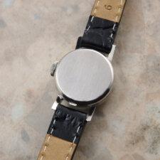 オメガ レディース アンティーク 時計 カットガラス プラチナ Platinum:画像4
