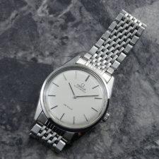 OMEGA 1970's アンティーク 腕時計 シルバーダイヤル 純正ステンレスブレス:画像1