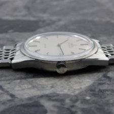 OMEGA 1970's アンティーク 腕時計 シルバーダイヤル 純正ステンレスブレス:画像2