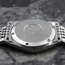 OMEGA 1970's アンティーク 腕時計 シルバーダイヤル 純正ステンレスブレス:画像3