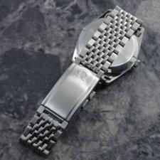 OMEGA 1970's アンティーク 腕時計 シルバーダイヤル 純正ステンレスブレス:画像4