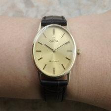 OMEGA 70's レディースアンティーク 腕時計 希少 オーバル ラージ ケース:画像6
