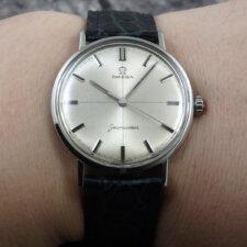 1960's OMEGA シーマスター 1960年代 アンティーク腕時計:画像6