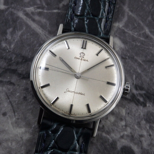 1960's OMEGA シーマスター 1960年代 アンティーク腕時計