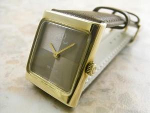 OMEGA レディースサイズ アンティーク時計 スクエアケース:画像1