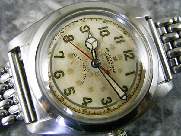 reputable site 4b723 4ebd9 ロレックス バブルバック 2940 1940年代 アラビア24時間表示 ...